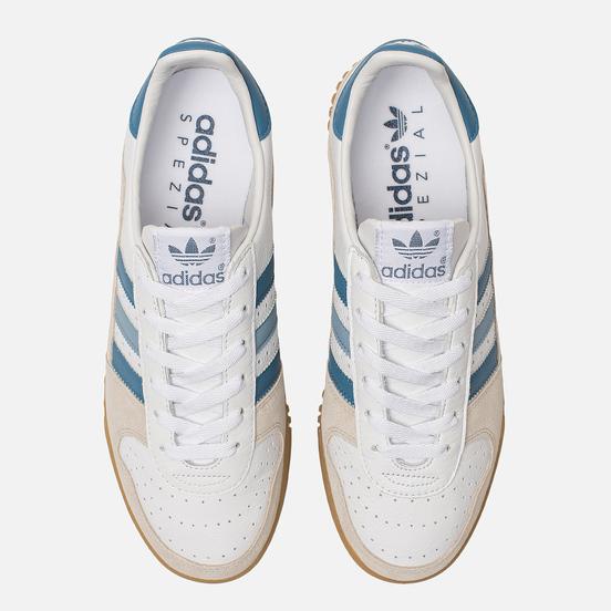 Мужские кроссовки adidas Spezial Indoor Comp White/Supplier Colour/Clear Brown