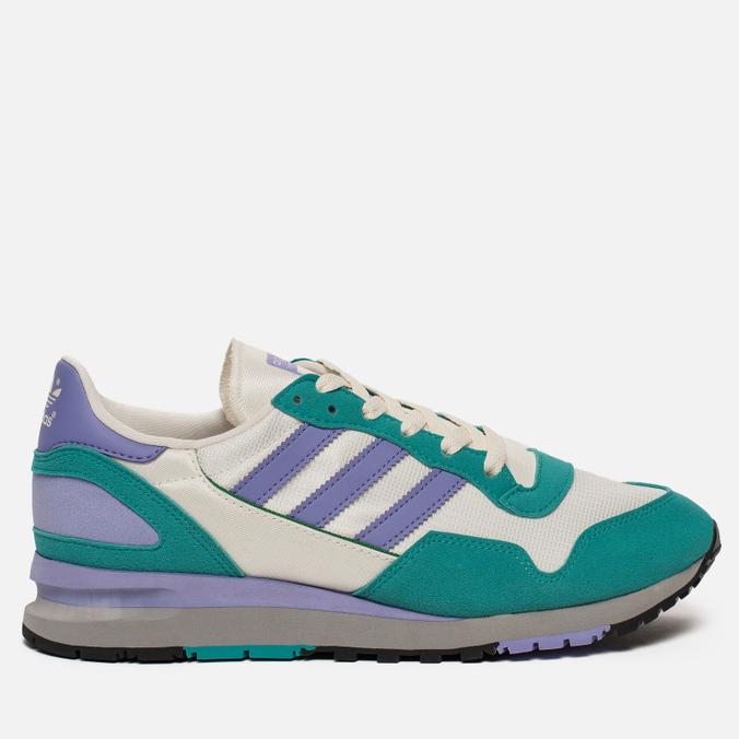 Мужские кроссовки adidas Spezial Lowertree Off White/Light Purple/Aero Reef
