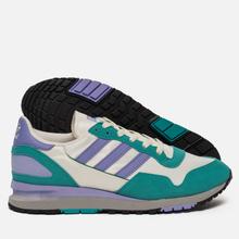 Мужские кроссовки adidas Spezial Lowertree Off White/Light Purple/Aero Reef фото- 1
