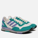 Мужские кроссовки adidas Spezial Lowertree Off White/Light Purple/Aero Reef фото- 2