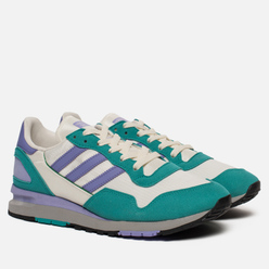 Мужские кроссовки adidas Spezial Lowertree Off White/Light Purple/Aero Reef
