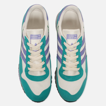 Мужские кроссовки adidas Spezial Lowertree Off White/Light Purple/Aero Reef фото- 4