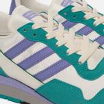 Мужские кроссовки adidas Spezial Lowertree Off White/Light Purple/Aero Reef фото- 5
