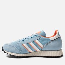 Мужские кроссовки adidas Spezial Silverbirch Clear Blue/White/Orange фото- 5