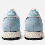 Мужские кроссовки adidas Spezial Silverbirch Clear Blue/White/Orange фото- 3