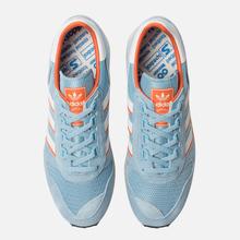 Мужские кроссовки adidas Spezial Silverbirch Clear Blue/White/Orange фото- 1