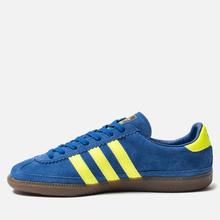 Мужские кроссовки adidas Spezial Whalley Power Blue/Solar Yellow/Cream White фото- 5