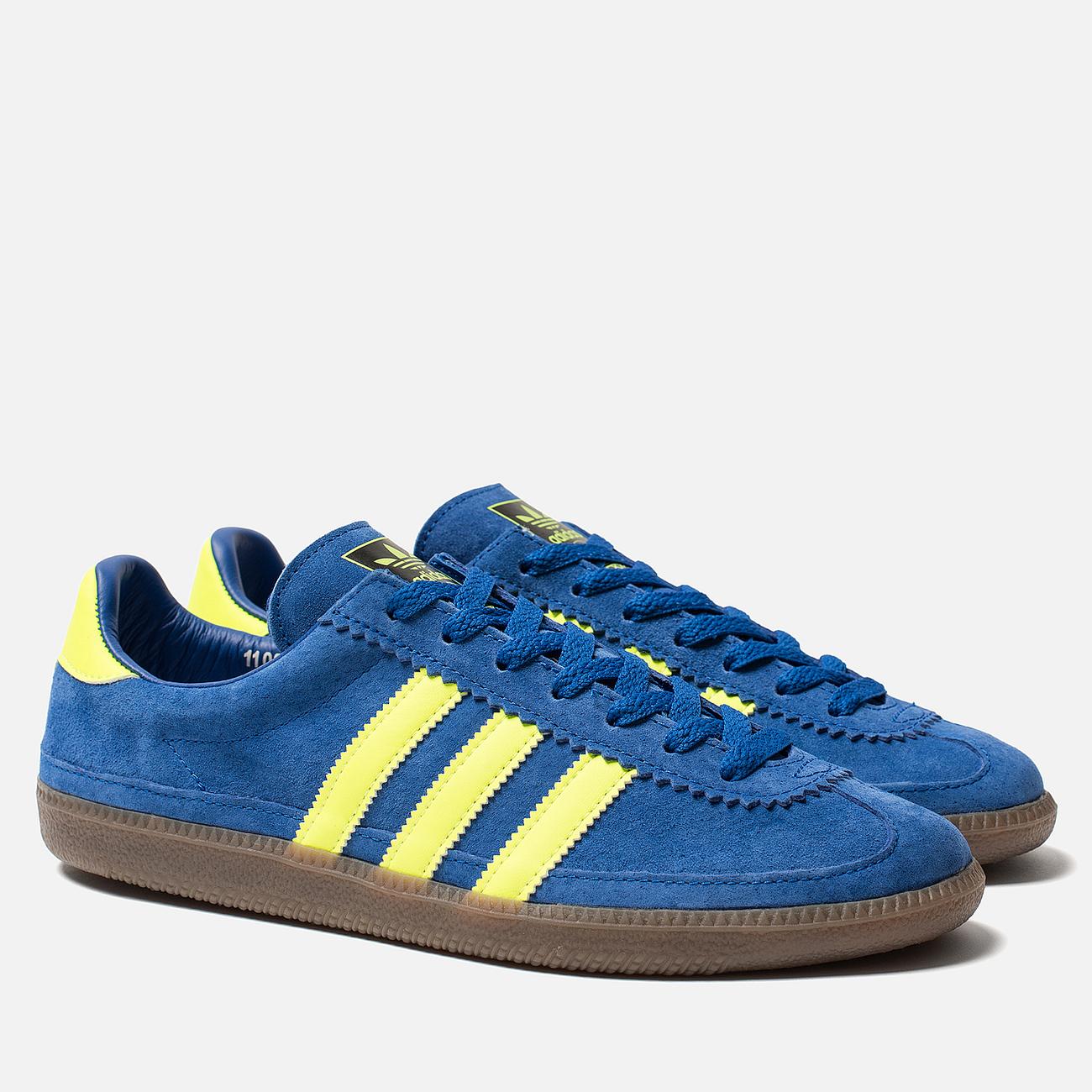 Мужские кроссовки adidas Spezial Whalley Power Blue/Solar Yellow/Cream White