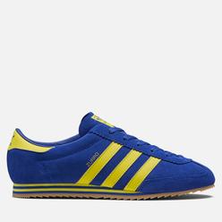 Мужские кроссовки adidas Spezial Zurro Bold Blue/Bright Yellow/Bold Blue
