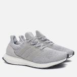 Мужские кроссовки adidas Performance Ultra Boost Clear Grey/Clear Grey/Mid Grey фото- 1