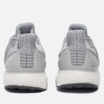 Мужские кроссовки adidas Performance Ultra Boost Clear Grey/Clear Grey/Mid Grey фото- 3