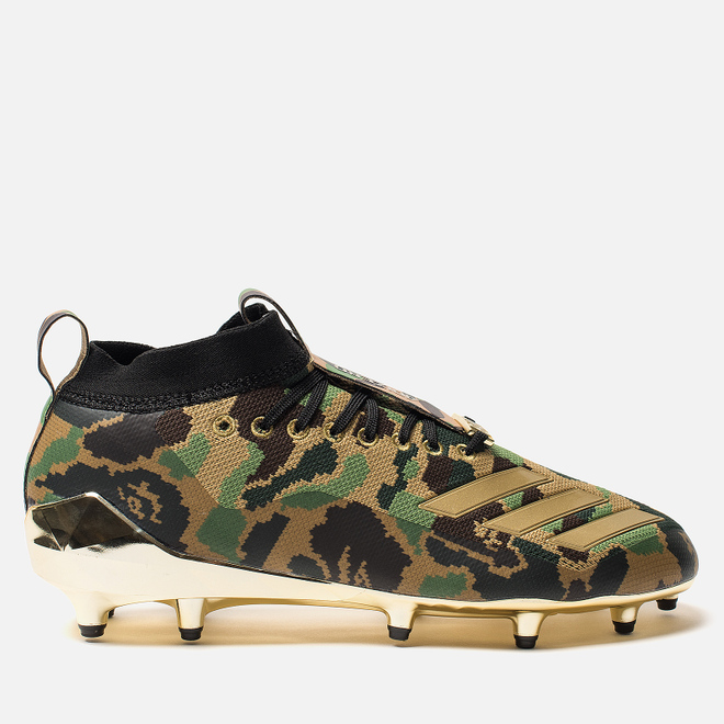 Мужские бутсы adidas x Bape Superbowl Cleats Supplier Colour/Gold Metallic/White