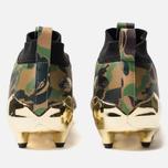 Мужские бутсы adidas x Bape Superbowl Cleats Supplier Colour/Gold Metallic/White фото- 3