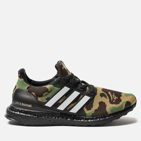 Мужские кроссовки adidas x Bape Superbowl Ultra Boost Supplier Colour/White/Core Black
