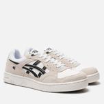 Мужские кроссовки ASICS Gel-Circuit White/Black фото- 2