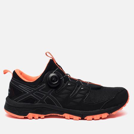 Мужские кроссовки ASICS Gel-Fujirado Black/Carbon/Hot Orange