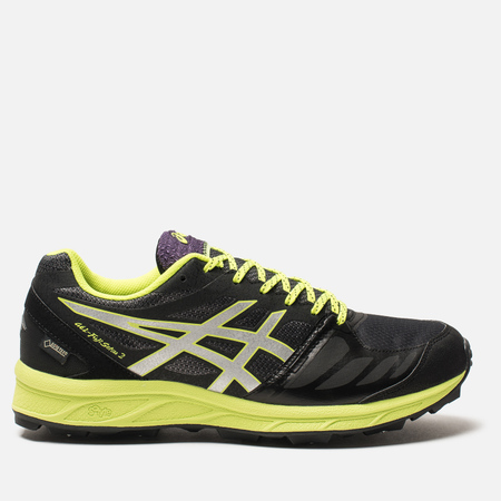 Мужские кроссовки ASICS Gel-Fujisetsu 2 G-TX Black/Silver/Safety Yellow