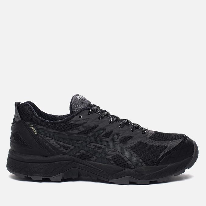 Мужские кроссовки ASICS Gel-FujiTrabuco 5 G-TX Black/Dark Steel/Silver