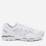 Мужские кроссовки ASICS Gel-Kayano 23 White/Snow/Silver фото- 0
