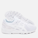 Кроссовки ASICS Gel-Kayano EVO Monochrome Pack White фото- 2