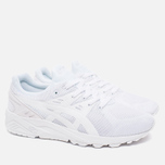 Кроссовки ASICS Gel-Kayano EVO Monochrome Pack White фото- 1