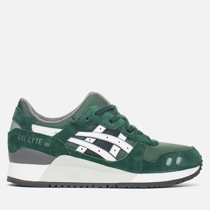 Мужские кроссовки ASICS Gel-Lyte III Varsity Pack Dark Green/White