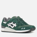 Мужские кроссовки ASICS Gel-Lyte III Varsity Pack Dark Green/White фото- 1