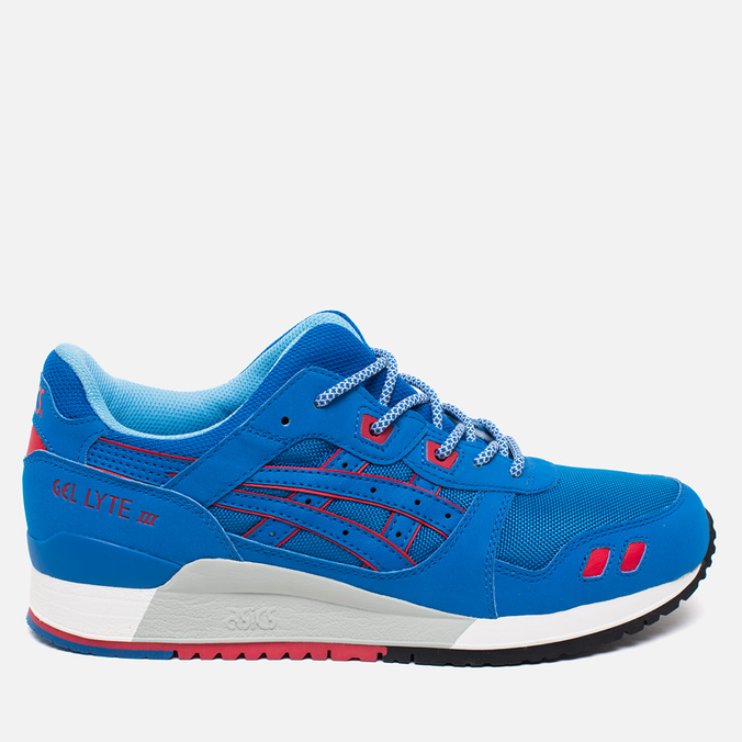 Мужские кроссовки ASICS Gel-Lyte III Future Pack Mid Blue/Red