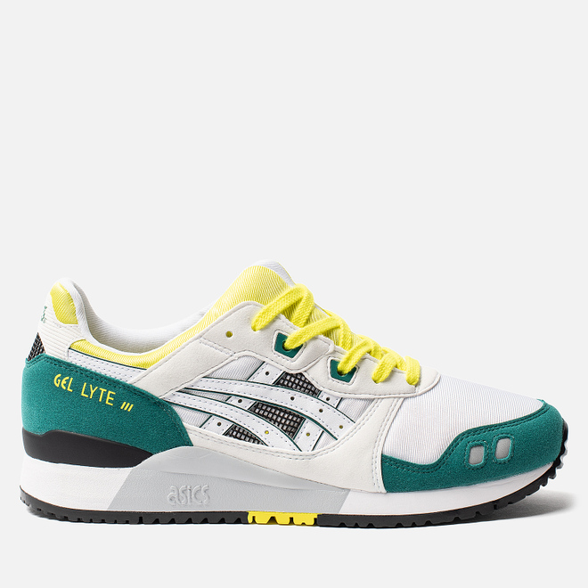 Мужские кроссовки ASICS Gel-Lyte III OG 30th Anniversary White/Yellow