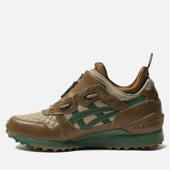 Мужские кроссовки ASICS Gel-Lyte MT Zip Chestnut/Hunter Green