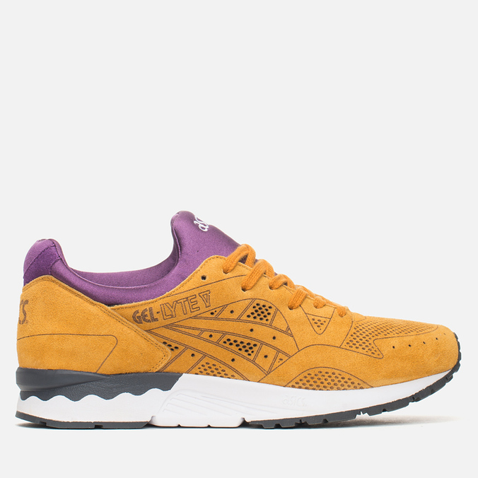 ASICS Gel-Lyte V Laser Cut Pack Sneakers Tan/Purple