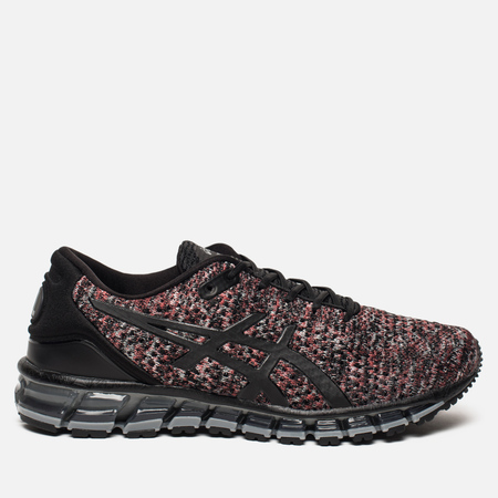 Мужские кроссовки ASICS Gel-Quantum 360 Knit 2 Black/Classic Red/Stone Grey