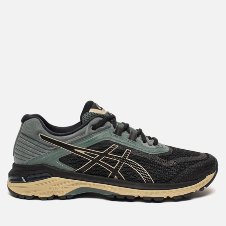 Мужские кроссовки ASICS GT-2000 6 Trail PlasmaGuard Black/Black/Dark Forest