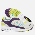 ASICS GT-Cool Xpress OG Deluxe Men's Sneakers Off White/Purple/Neon Green photo- 2