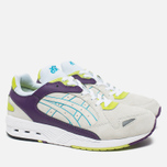 ASICS GT-Cool Xpress OG Deluxe Men's Sneakers Off White/Purple/Neon Green photo- 1