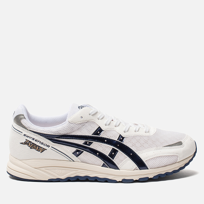 Мужские кроссовки ASICS Skysensor Japan White/Blue Print