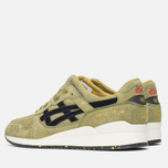 Мужские кроссовки ASICS x Footpatrol Gel-Lyte III Squad Military Green/Black/White фото- 2