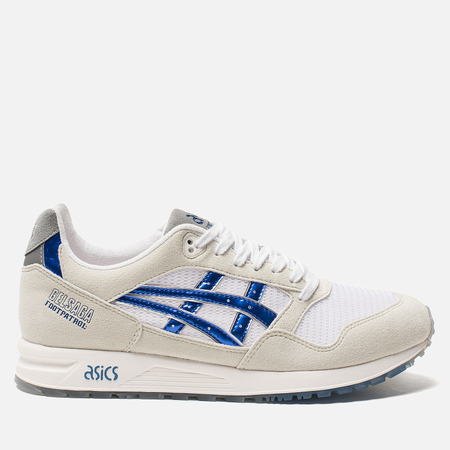 Мужские кроссовки ASICS x Footpatrol Gel-Saga Titanium Grey/Iridium Blue