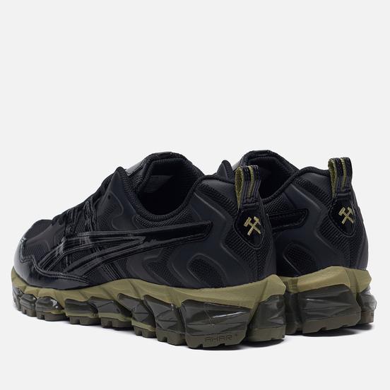 Мужские кроссовки ASICS x GmbH Gel-Nandi 360 Black/Black