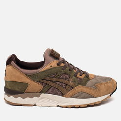 Мужские кроссовки ASICS x Kicks Lab x SBTG Gel-Lyte V Phys-Ed Brown/Light Brown/Olive