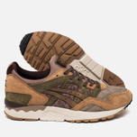 Мужские кроссовки ASICS x Kicks Lab x SBTG Gel-Lyte V Phys-Ed Brown/Light Brown/Olive фото- 2
