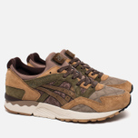 Мужские кроссовки ASICS x Kicks Lab x SBTG Gel-Lyte V Phys-Ed Brown/Light Brown/Olive фото- 1