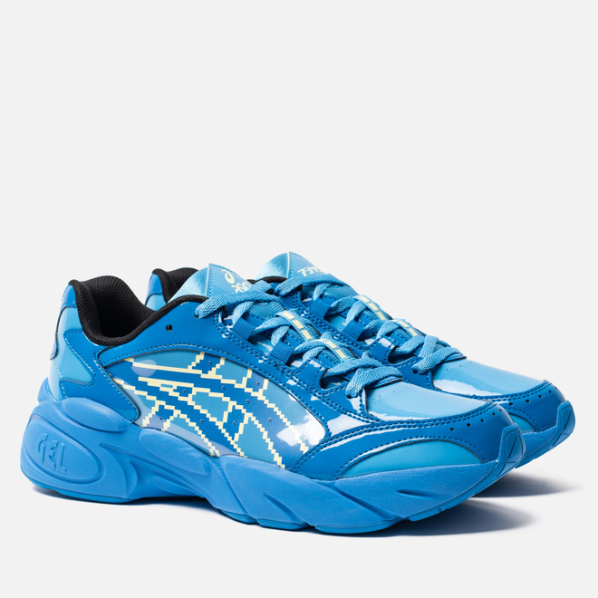 Мужские кроссовки ASICS x Megaman Gel-BND Electric Blue/Electric Blue