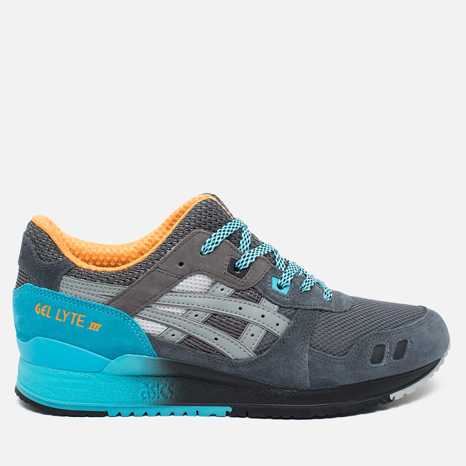 Мужские кроссовки ASICS x Slam Jam Gel-Lyte III 6THPRLLL Light Grey/Mid Blue