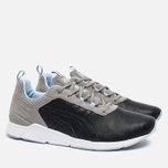 Мужские кроссовки ASICS x Solebox Gel-Lyte Runner Blue Carpenter Bee Part II Black/Black фото- 1