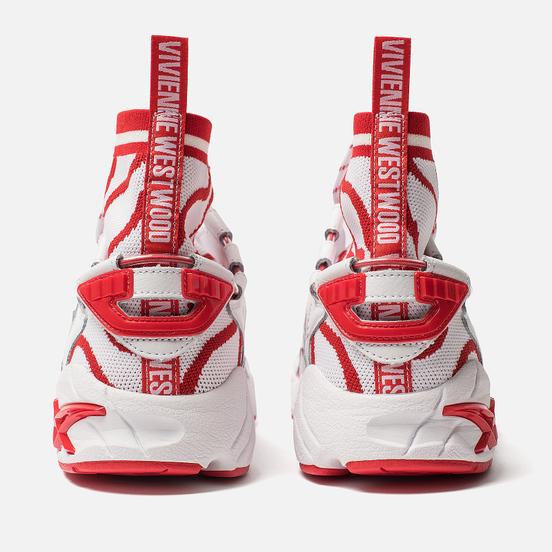 Мужские кроссовки ASICS x Vivienne Westwood Gel-Mai Knit MT White/Fiery Red