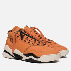 Мужские кроссовки Casbia x Champion Atlanta Safety Orange