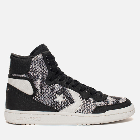 Мужские кроссовки Converse Fastbreak High Snake Black/White/Vaporous Grey