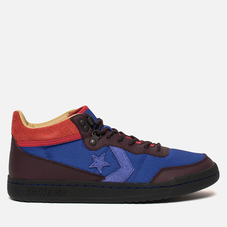 Мужские кроссовки Converse x Clot Fastbreak Mid Royal Blue/Catawba Grape/Peat