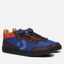 Мужские кроссовки Converse x Clot Fastbreak Mid Royal Blue/Catawba Grape/Peat